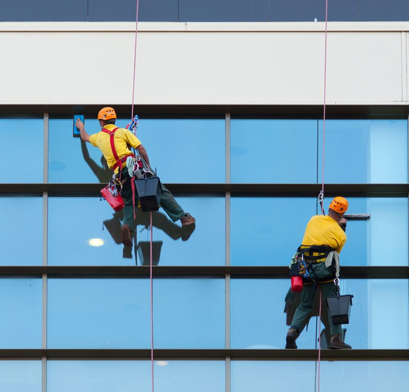 Specialised High-rise window cleaning