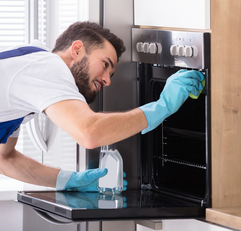 Specialised oven cleaning