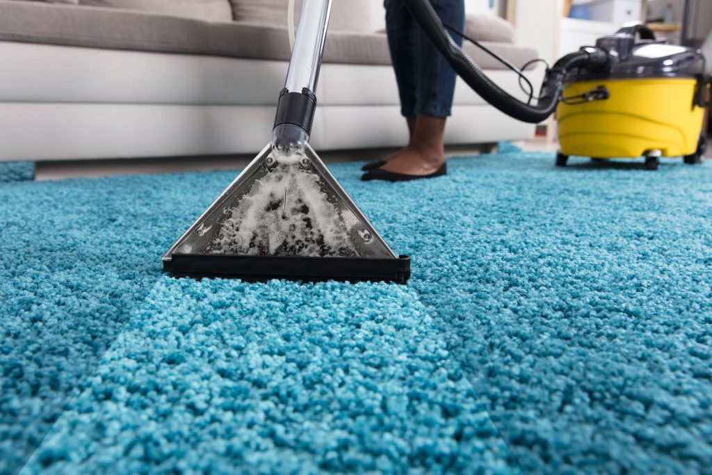 Rug cleaning sides and areas