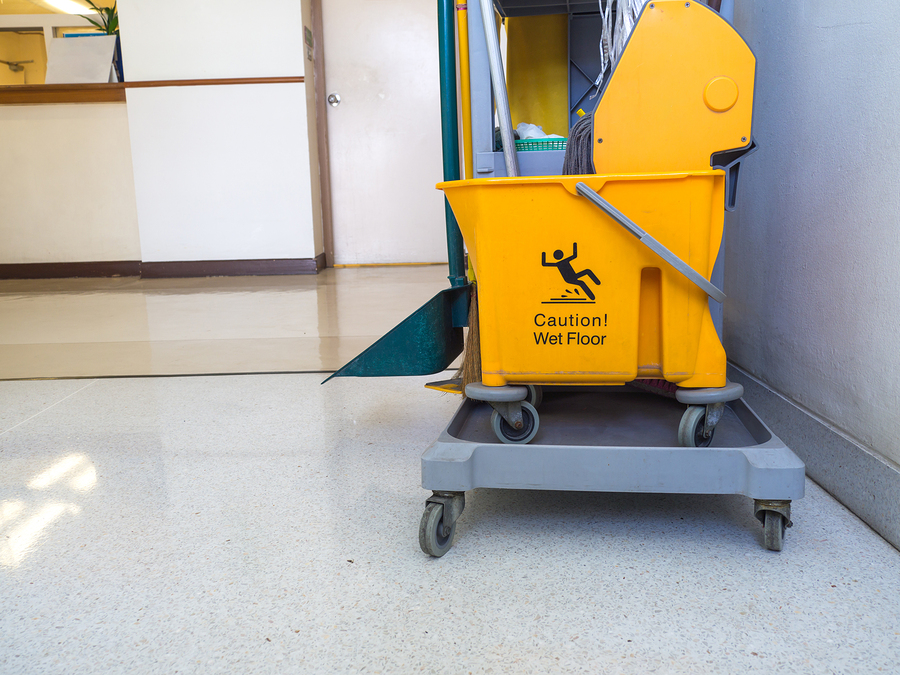 aged care facility cleaning