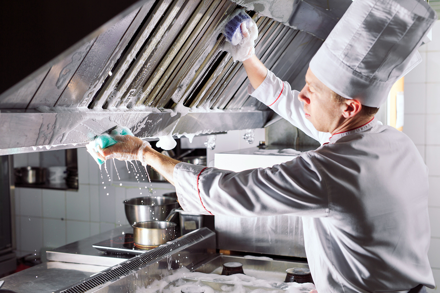 6 commercial kitchen cleaning tasks that are part of your deep clean